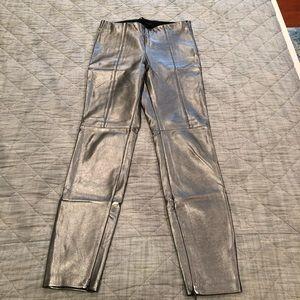 Zara silver pants